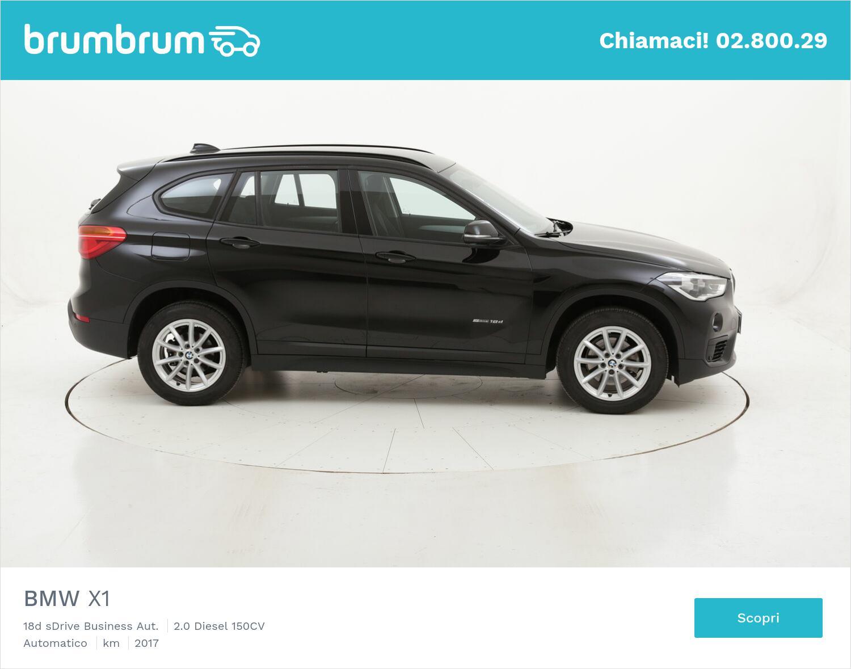 BMW X1 18d sDrive Business Aut. usata del 2017 con 26.109 km | brumbrum