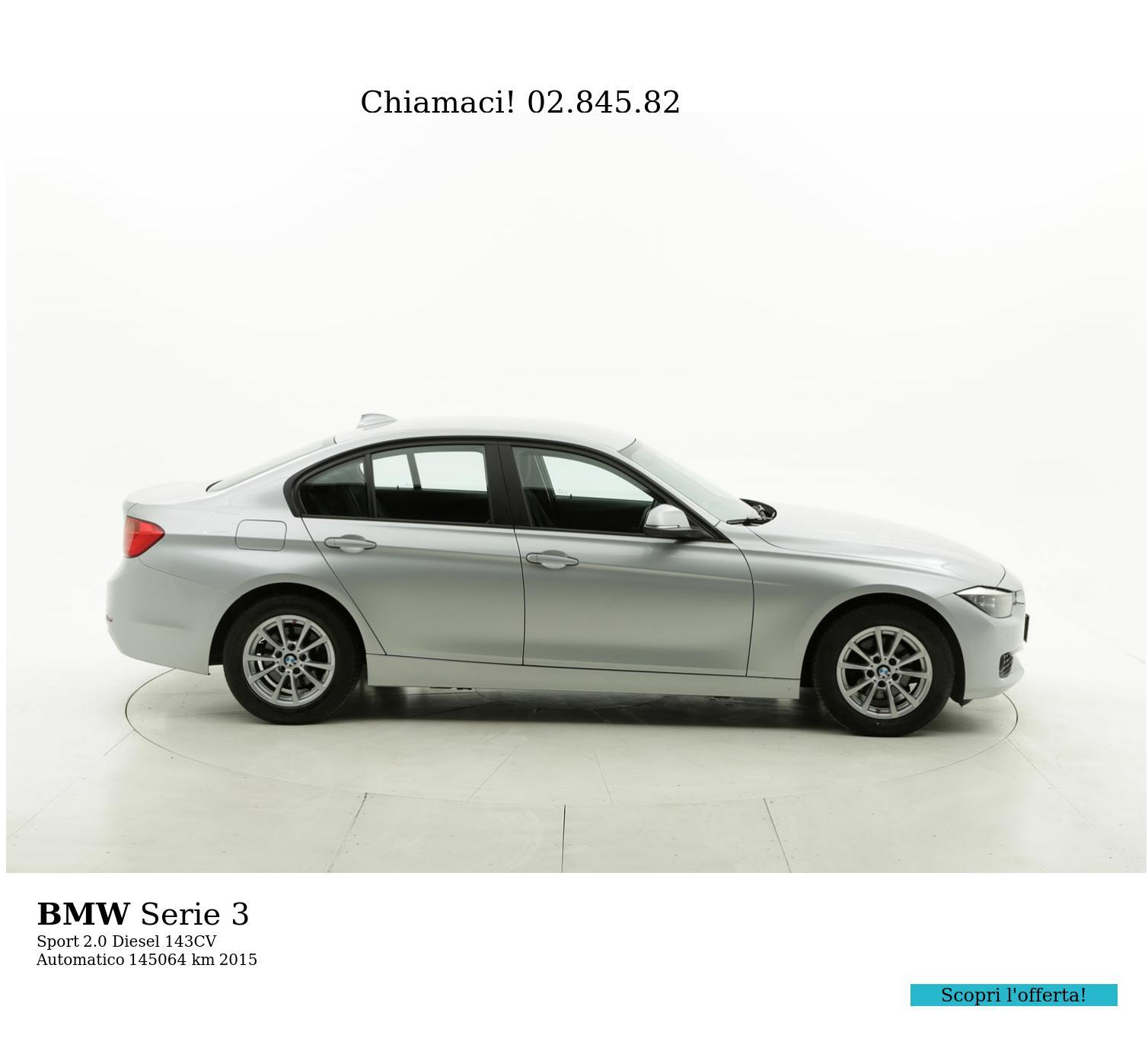 BMW Serie 3 usata del 2015 con 145.156 km | brumbrum