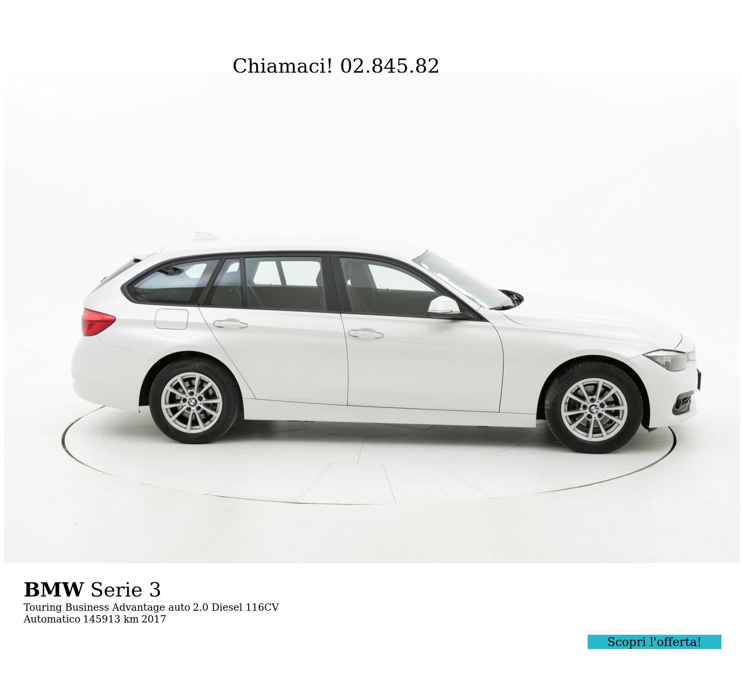 BMW Serie 3 usata del 2017 con 146.851 km   brumbrum
