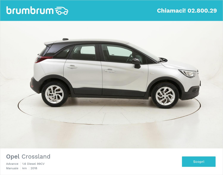 Opel Crossland Advance usata del 2018 con 51.879 km   brumbrum