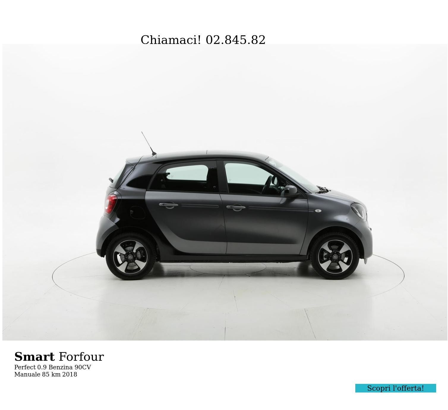 Smart Forfour usata del 2018 con 121 km | brumbrum