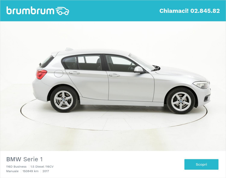 BMW Serie 1 usata del 2017 con 151.158 km   brumbrum