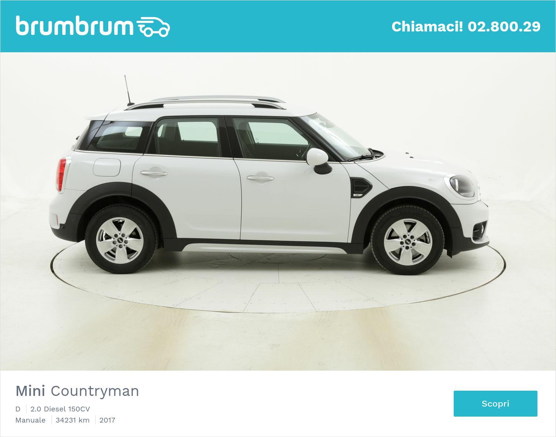 Mini Countryman D usata del 2017 con 34.753 km | brumbrum