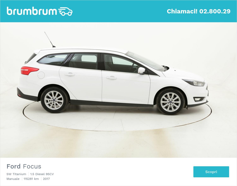 Ford Focus SW Titanium usata del 2017 con 115.318 km | brumbrum
