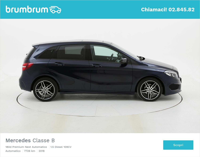 Mercedes Classe B usata del 2018 con 7.863 km | brumbrum