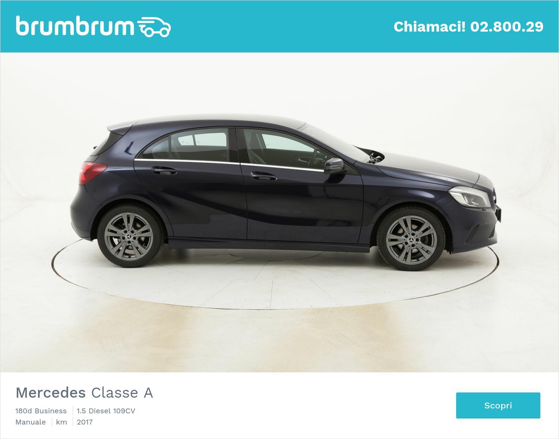 Mercedes Classe A 180d Business usata del 2017 con 130.018 km | brumbrum