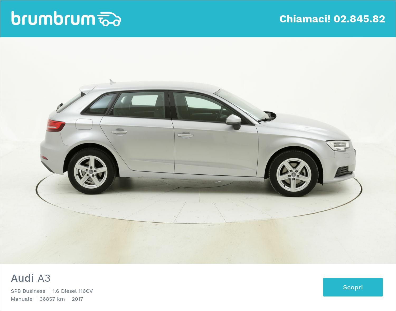 Audi A3 usata del 2017 con 37.130 km   brumbrum