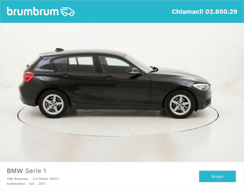 BMW Serie 1 118d Business usata del 2017 con 40.500 km | brumbrum