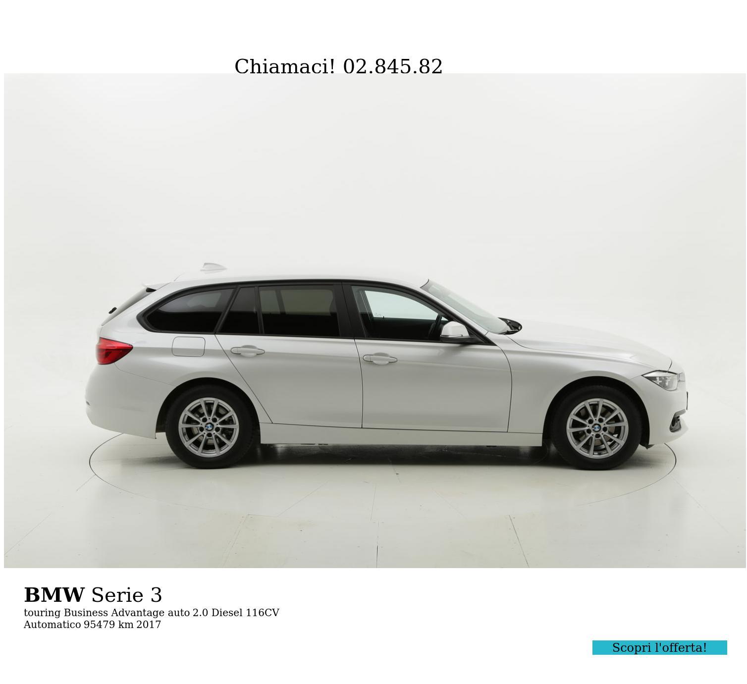 BMW Serie 3 usata del 2017 con 95.774 km | brumbrum