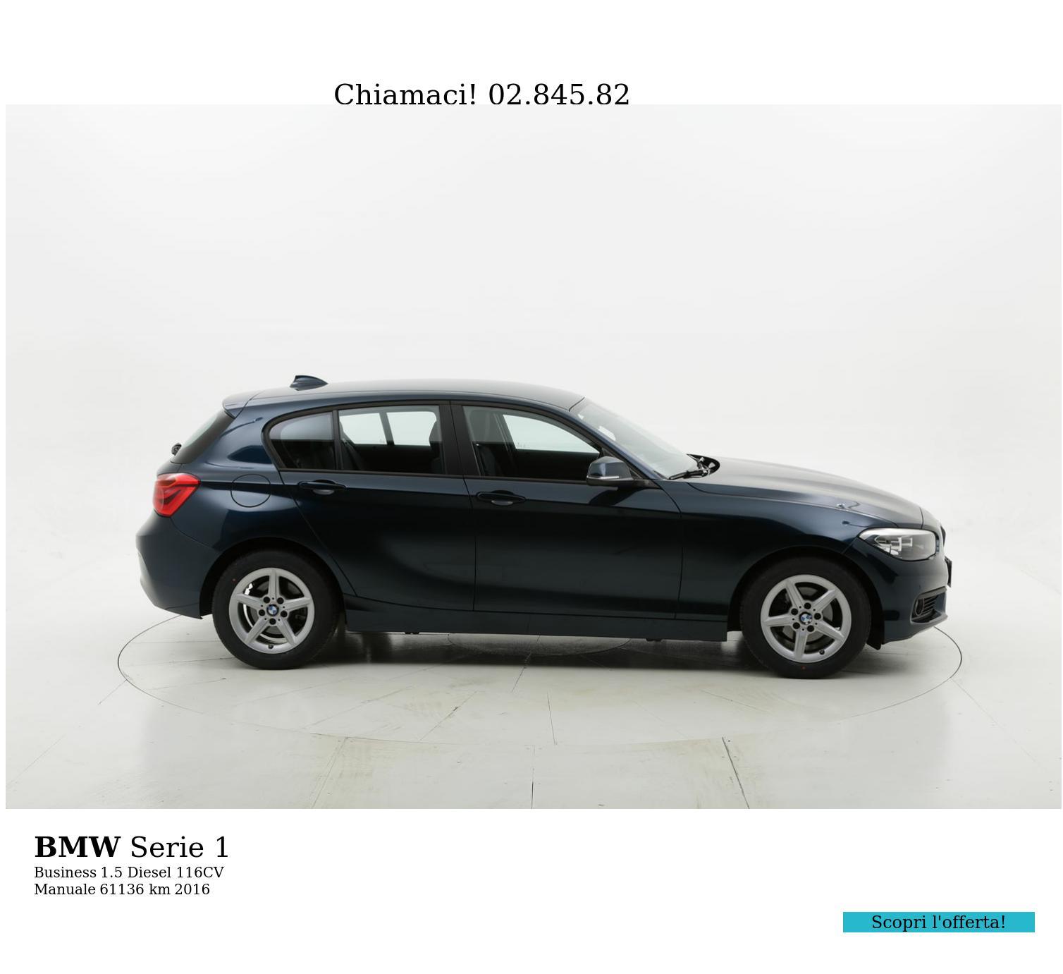 BMW Serie 1 usata del 2016 con 61.376 km | brumbrum