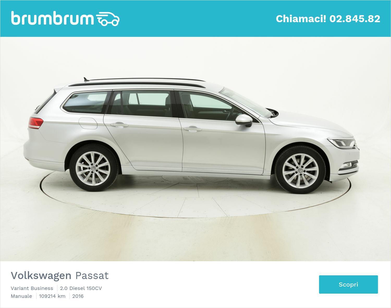 Volkswagen Passat usata del 2016 con 109.400 km | brumbrum