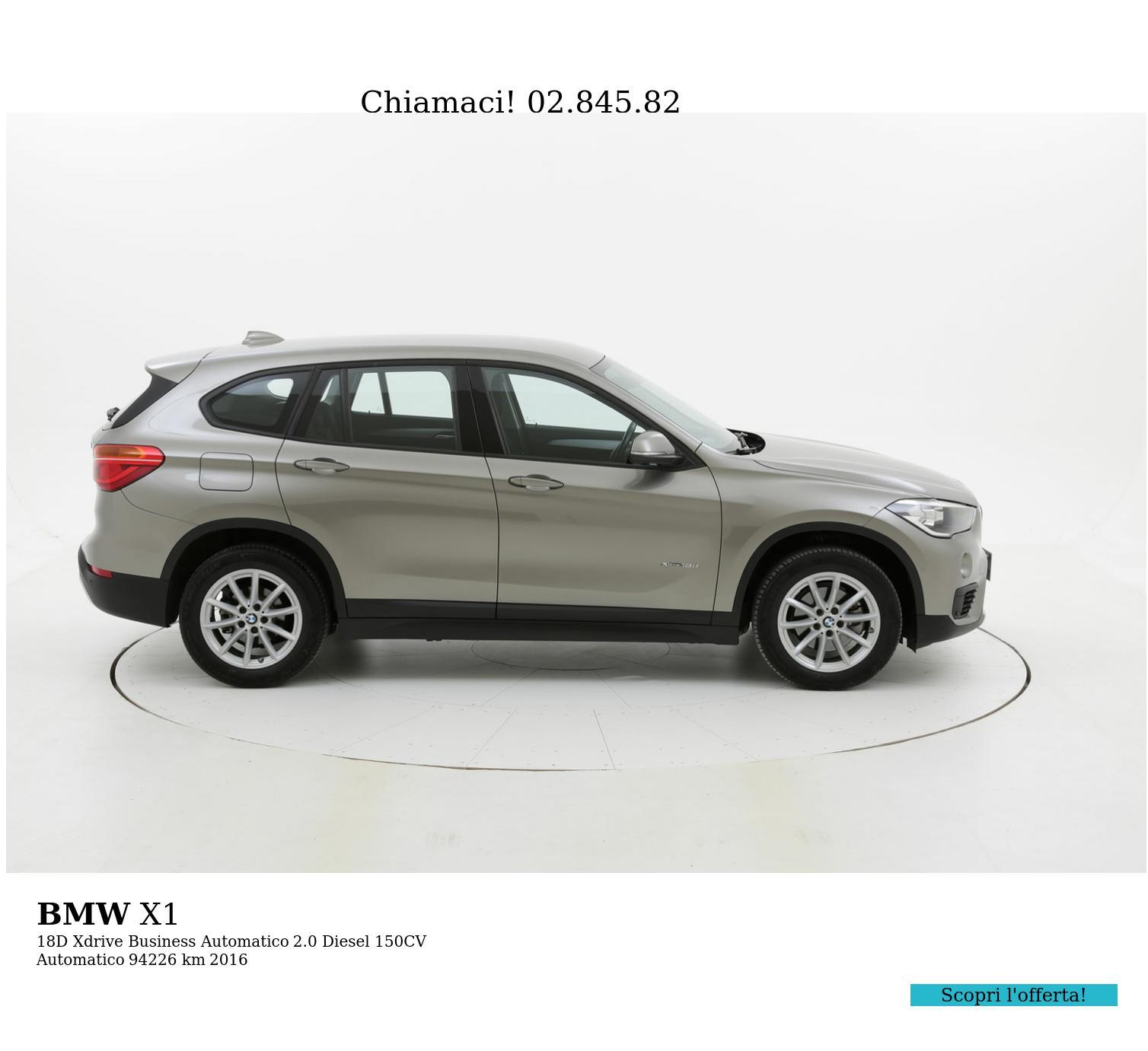 BMW X1 usata del 2016 con 94.408 km | brumbrum