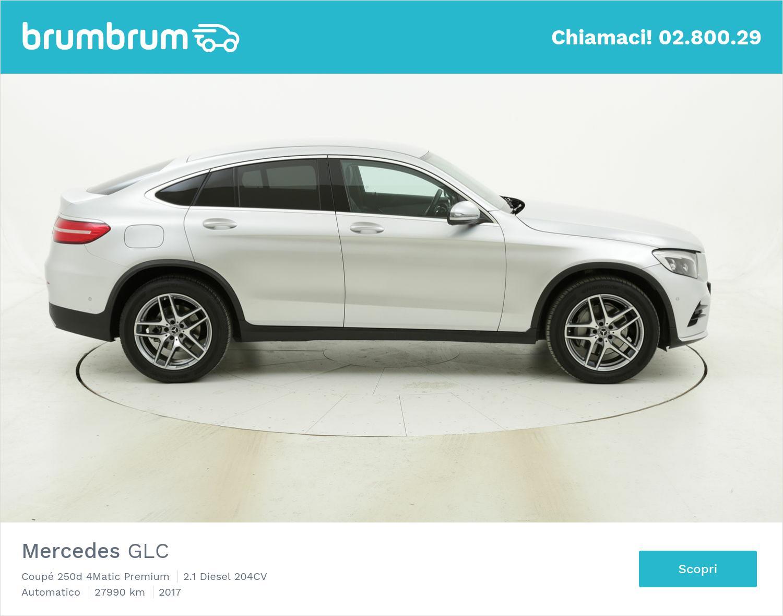 Mercedes GLC Coupé 250d 4Matic Premium usata del 2017 con 28.062 km | brumbrum