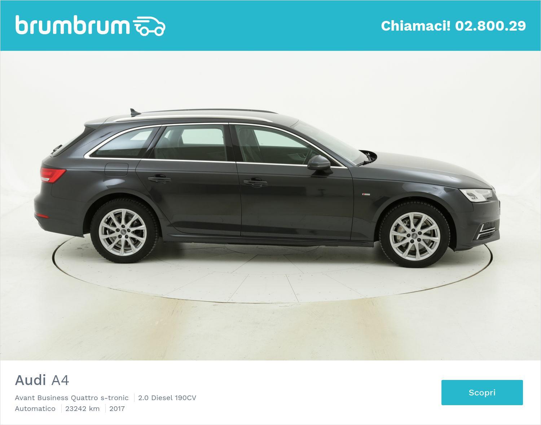 Audi A4 Avant Business Quattro s-tronic usata del 2017 con 23.448 km | brumbrum