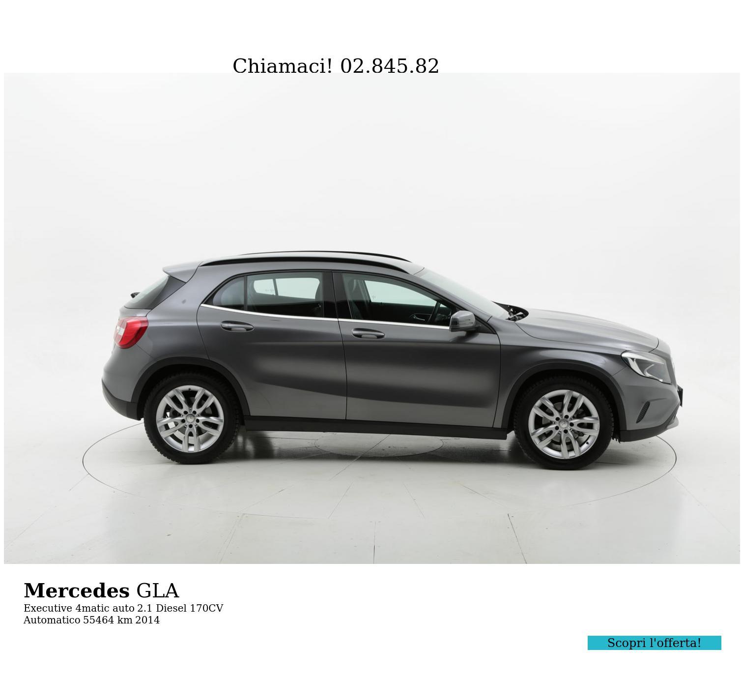 Mercedes GLA usata del 2014 con 55.851 km | brumbrum