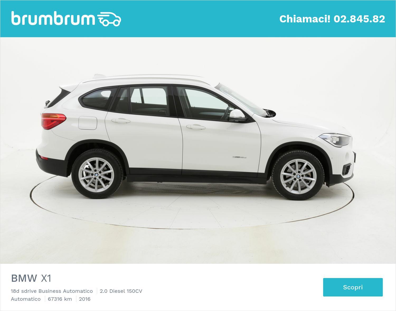 BMW X1 usata del 2016 con 67.801 km | brumbrum