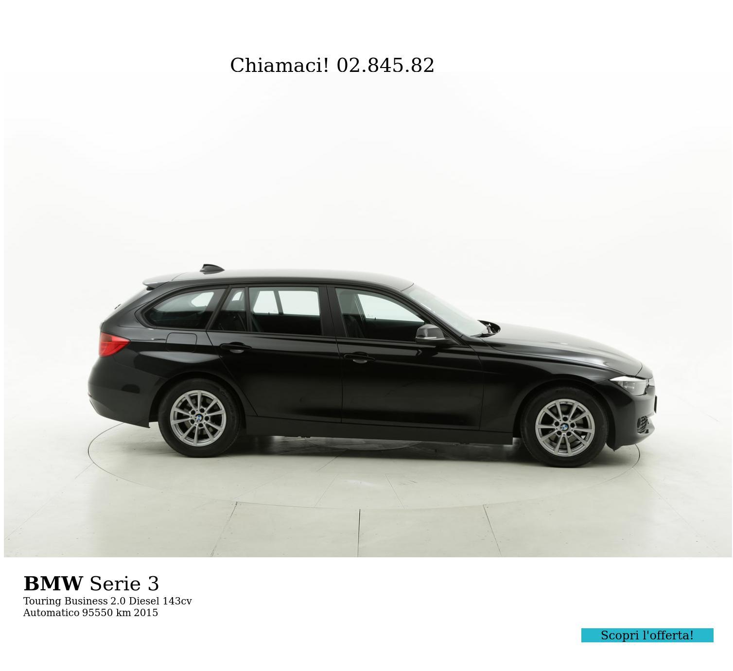 BMW Serie 3 usata del 2015 con 93.720 km   brumbrum