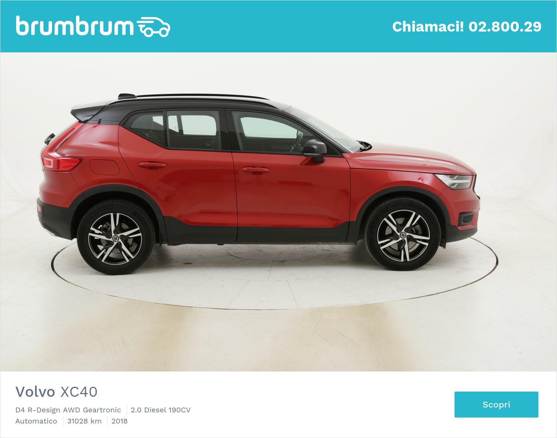 Volvo XC40 D4 R-Design AWD Geartronic usata del 2018 con 31.080 km | brumbrum