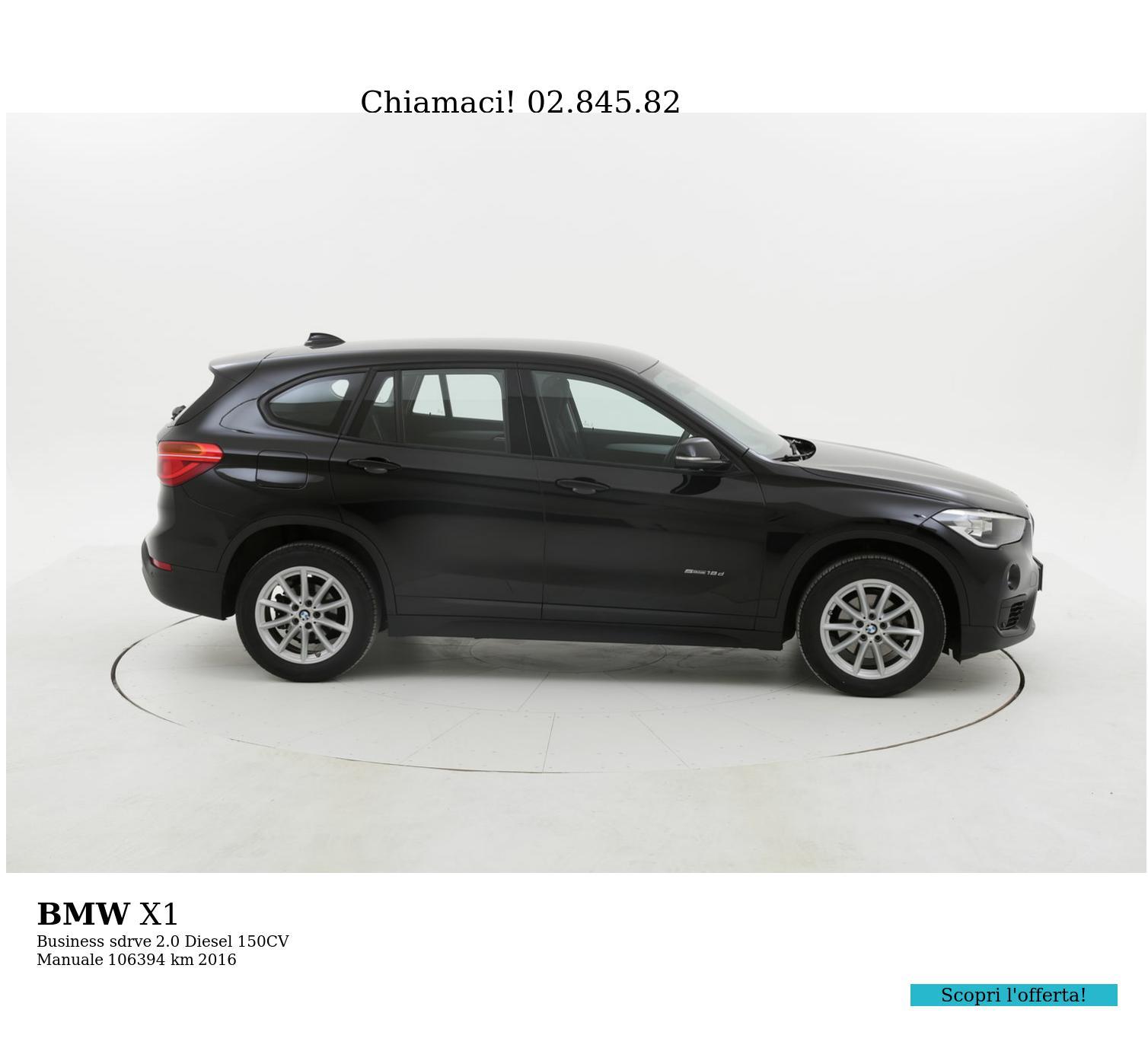 BMW X1 usata del 2016 con 106.596 km | brumbrum