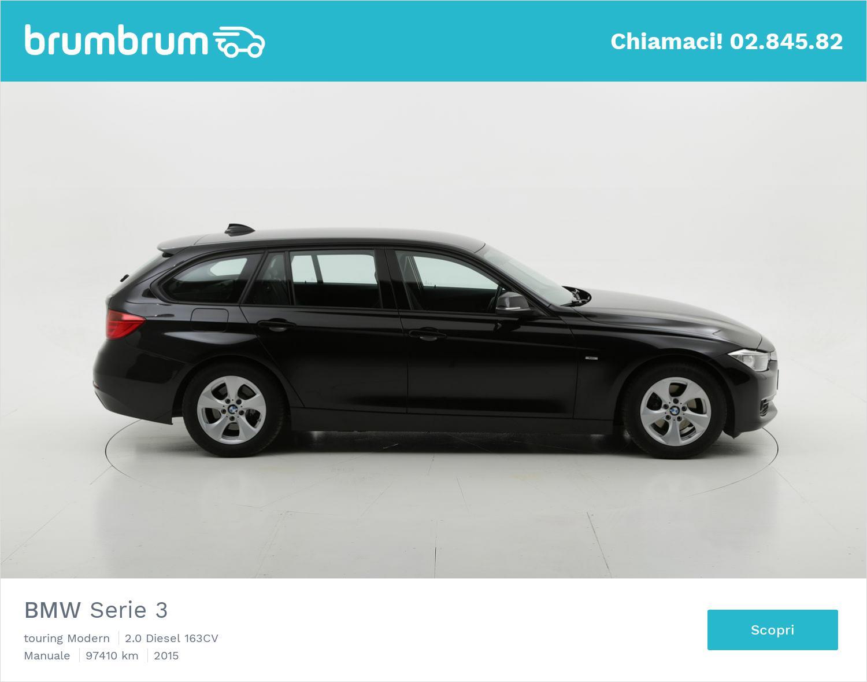 BMW Serie 3 usata del 2015 con 97.447 km | brumbrum