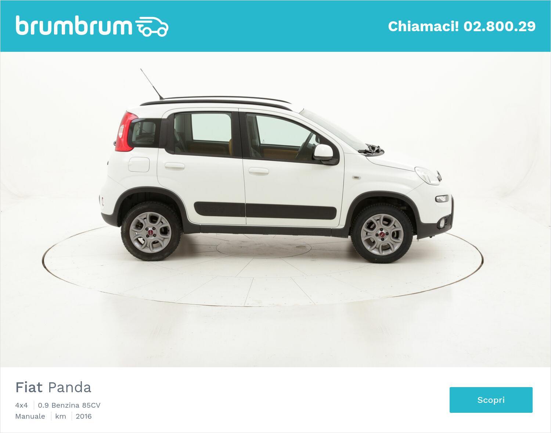 Fiat Panda 4x4 usata del 2016 con 41.348 km | brumbrum