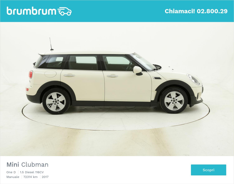 Mini Clubman One D usata del 2017 con 72.413 km | brumbrum
