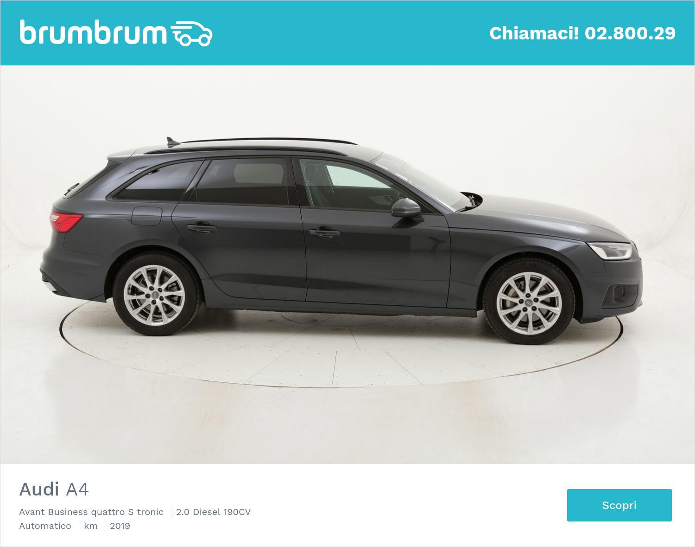 Audi A4 Avant Business quattro S tronic usata del 2019 con 37.183 km   brumbrum