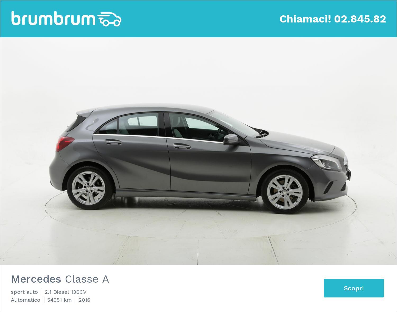 Mercedes Classe A usata del 2016 con 55.546 km   brumbrum