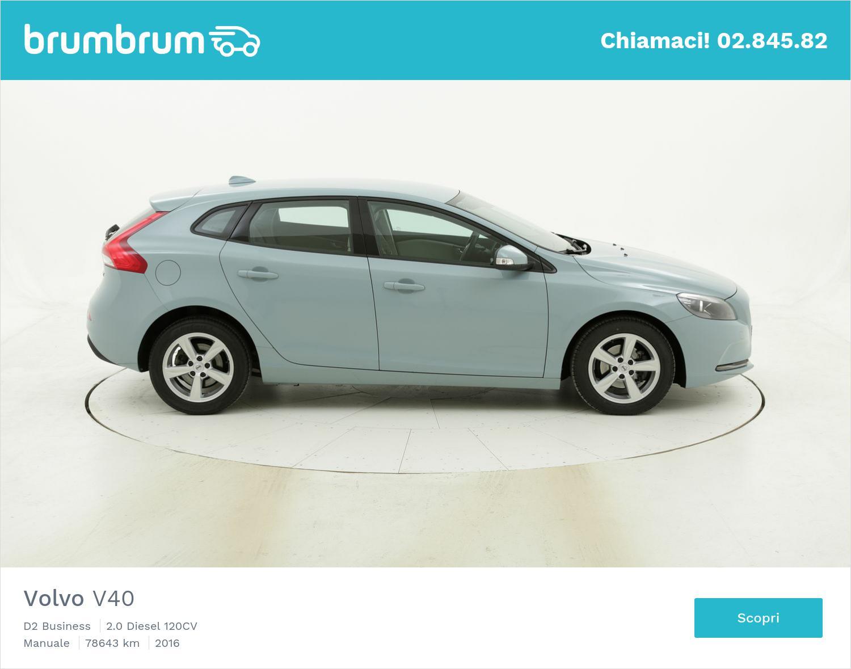 Volvo V40 usata del 2016 con 78.904 km | brumbrum