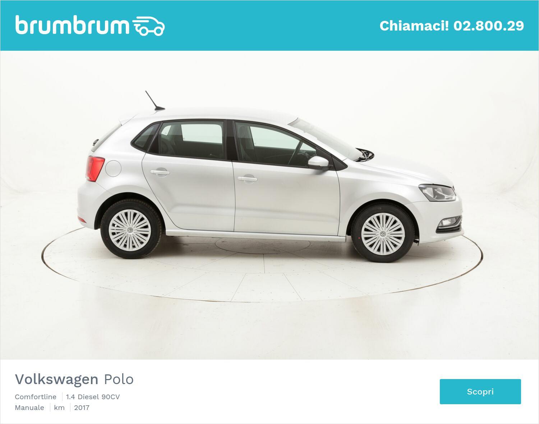 Volkswagen Polo Comfortline usata del 2017 con 95.460 km | brumbrum