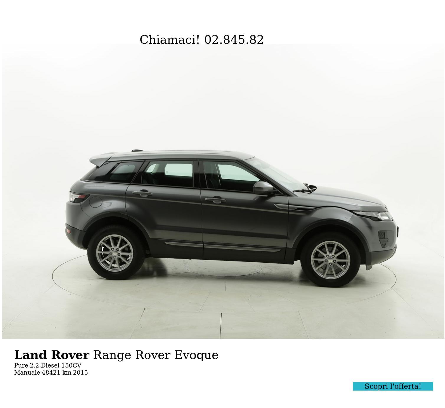 Land Rover Range Rover Evoque usata del 2015 con 48.649 km | brumbrum