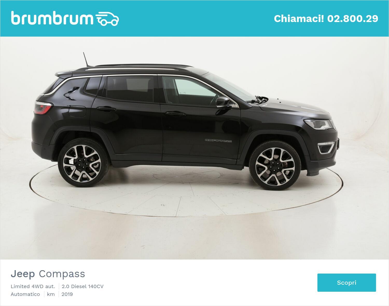Jeep Compass Limited 4WD aut. usata del 2019 con 97.686 km | brumbrum