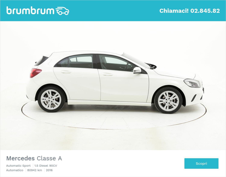 Mercedes Classe A usata del 2016 con 81.083 km | brumbrum