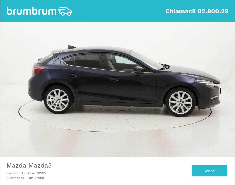 Mazda Mazda3 Exceed usata del 2018 con 53.327 km | brumbrum