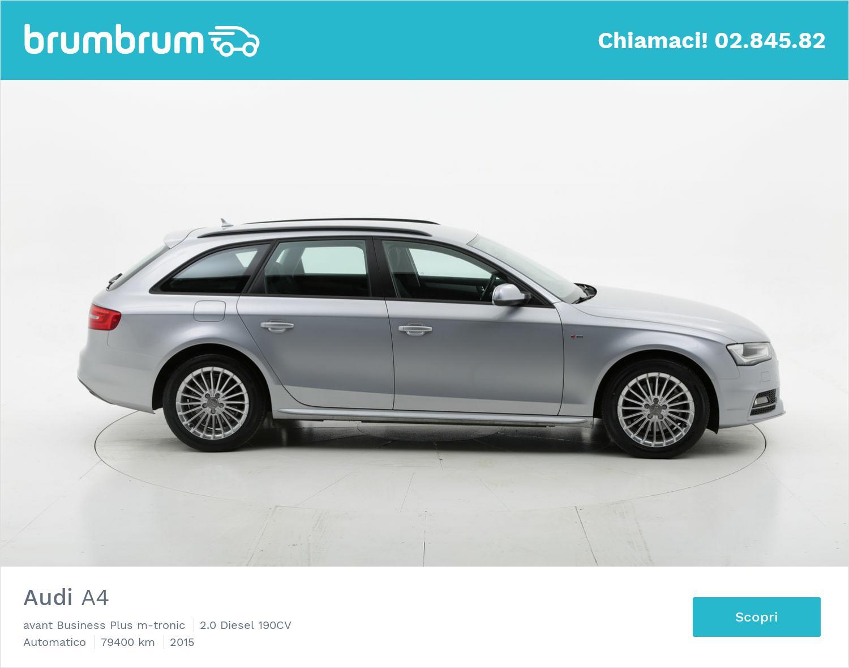 Audi A4 usata del 2015 con 80.154 km   brumbrum