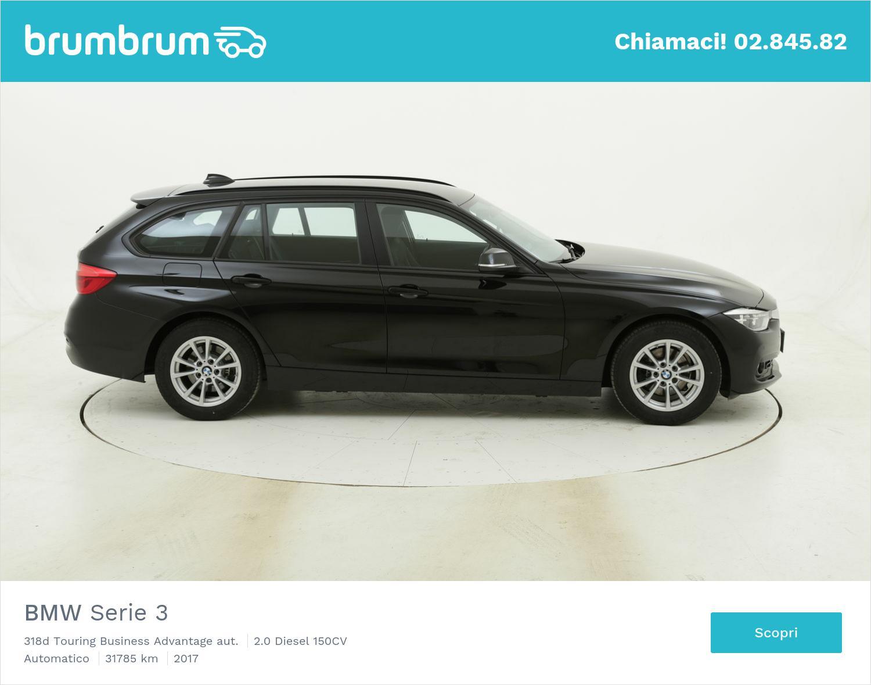 BMW Serie 3 318d Touring Business Advantage aut. usata del 2017 con 32.461 km   brumbrum