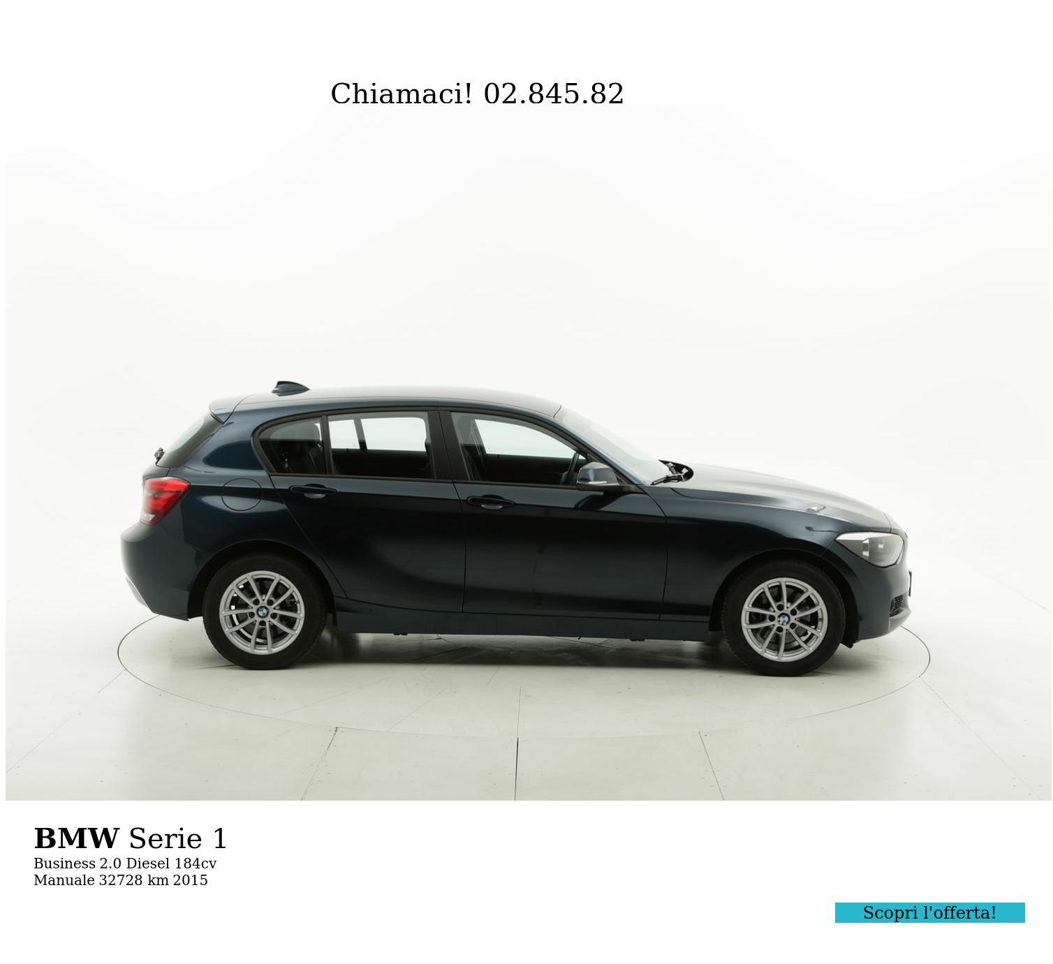 BMW Serie 1 usata del 2015 con 32.763 km | brumbrum