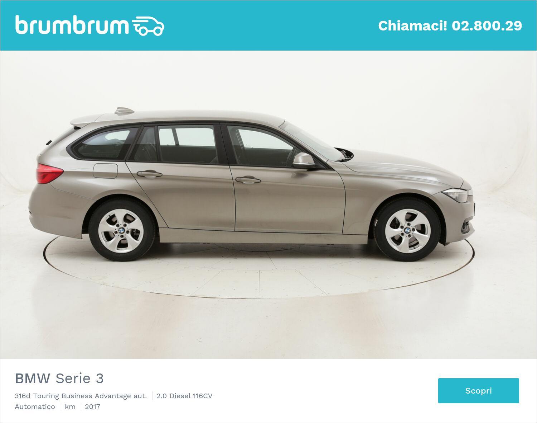 BMW Serie 3 316d Touring Business Advantage aut. usata del 2017 con 137.679 km | brumbrum