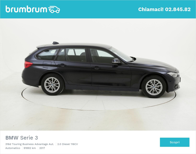 BMW Serie 3 usata del 2017 con 92.287 km | brumbrum