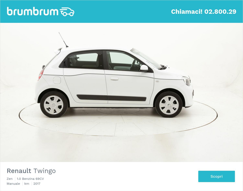 Renault Twingo Zen usata del 2017 con 31.638 km   brumbrum