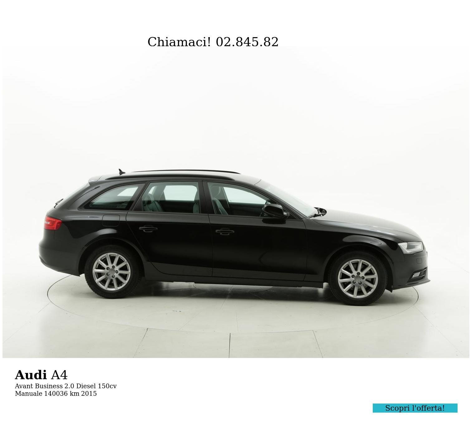 Audi A4 usata del 2015 con 140.158 km | brumbrum
