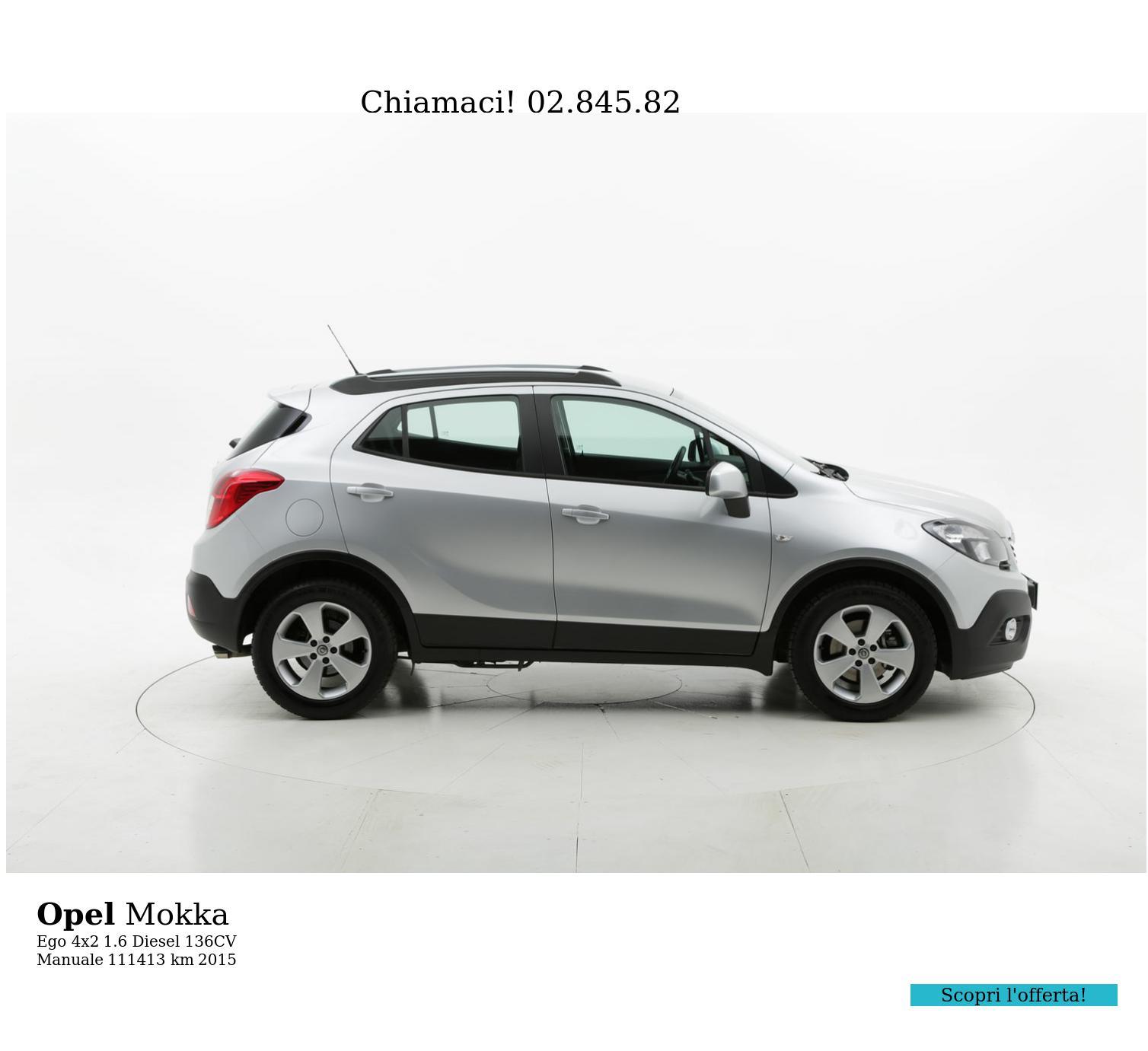Opel Mokka usata del 2015 con 111.928 km | brumbrum
