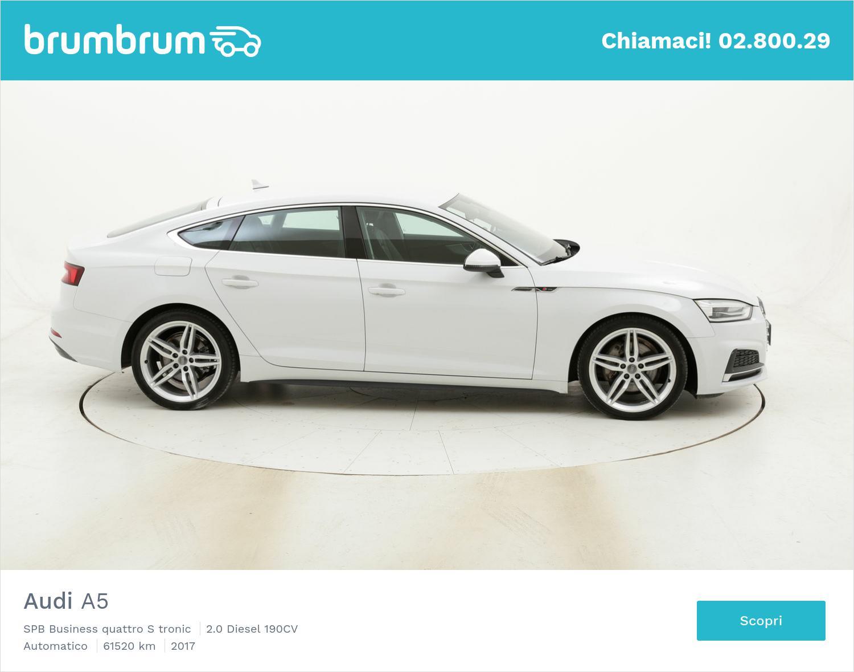 Audi A5 SPB Business quattro S tronic usata del 2017 con 61.837 km | brumbrum