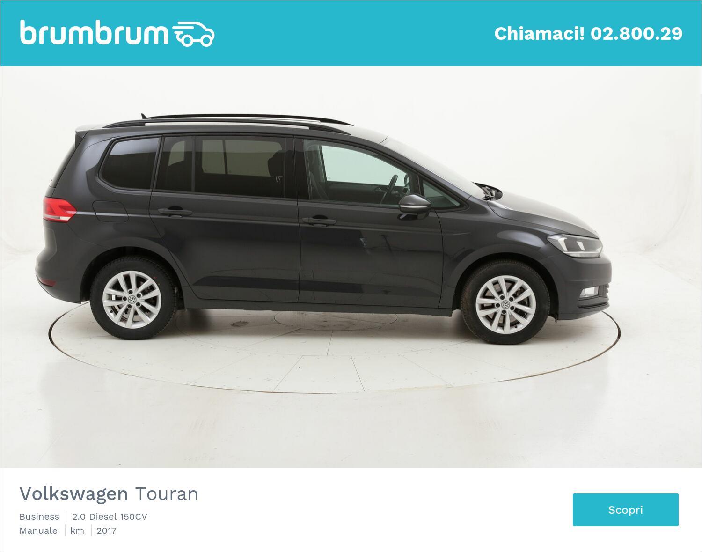 Volkswagen Touran Business usata del 2017 con 129.219 km   brumbrum