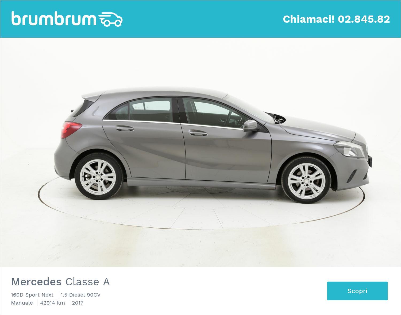Mercedes Classe A usata del 2017 con 43.084 km | brumbrum