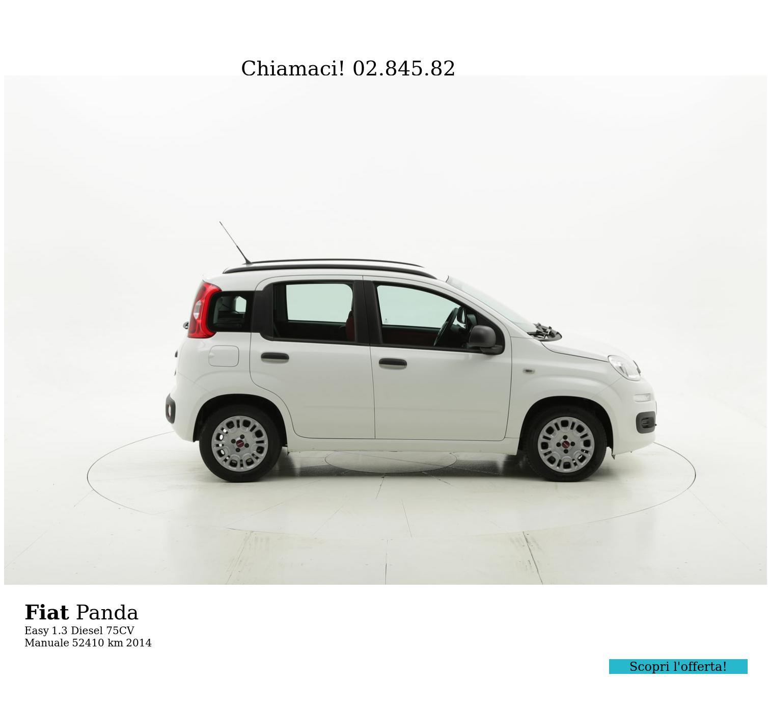 Fiat Panda usata del 2014 con 52.443 km | brumbrum