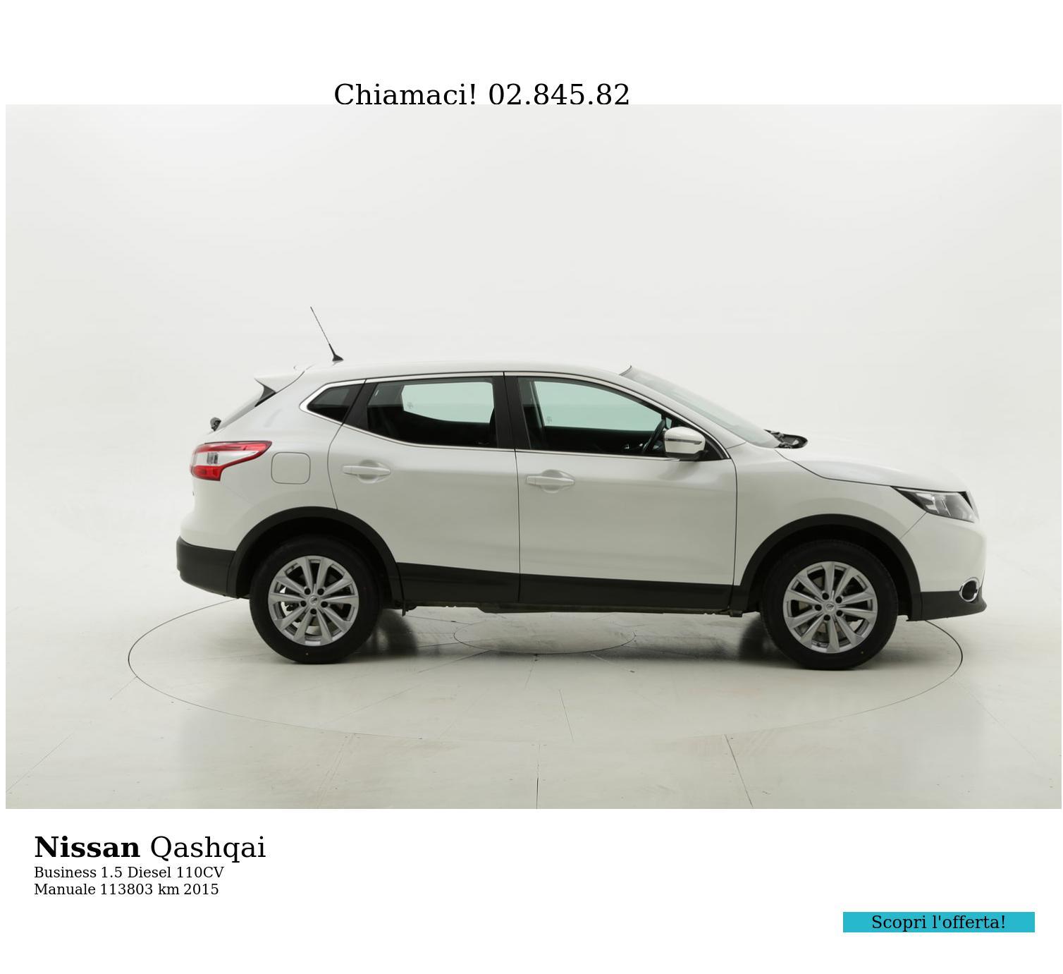 Nissan Qashqai usata del 2015 con 113.991 km | brumbrum