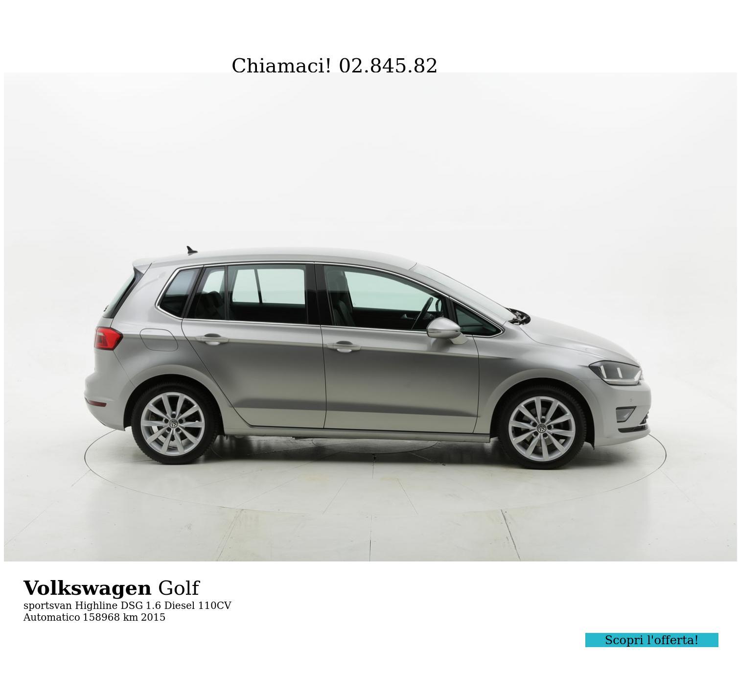 Volkswagen Golf usata del 2015 con 159.468 km | brumbrum