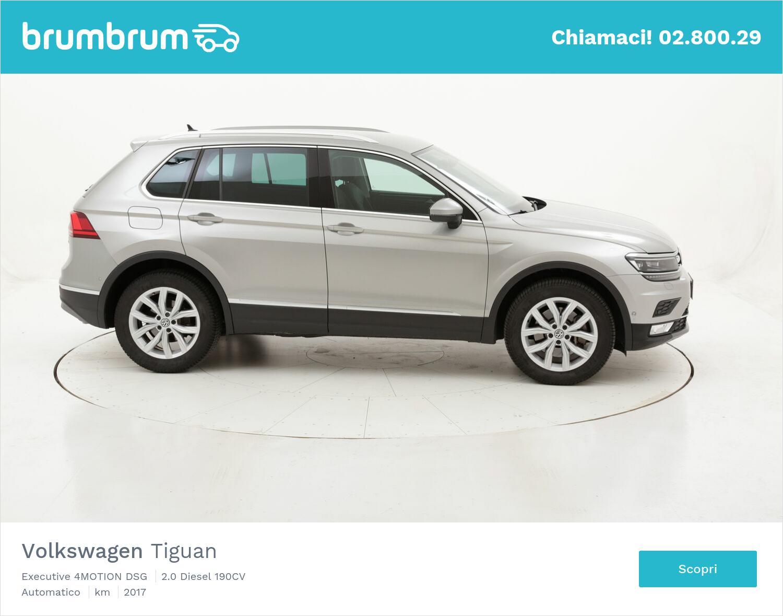 Volkswagen Tiguan Executive 4MOTION DSG usata del 2017 con 117.464 km   brumbrum