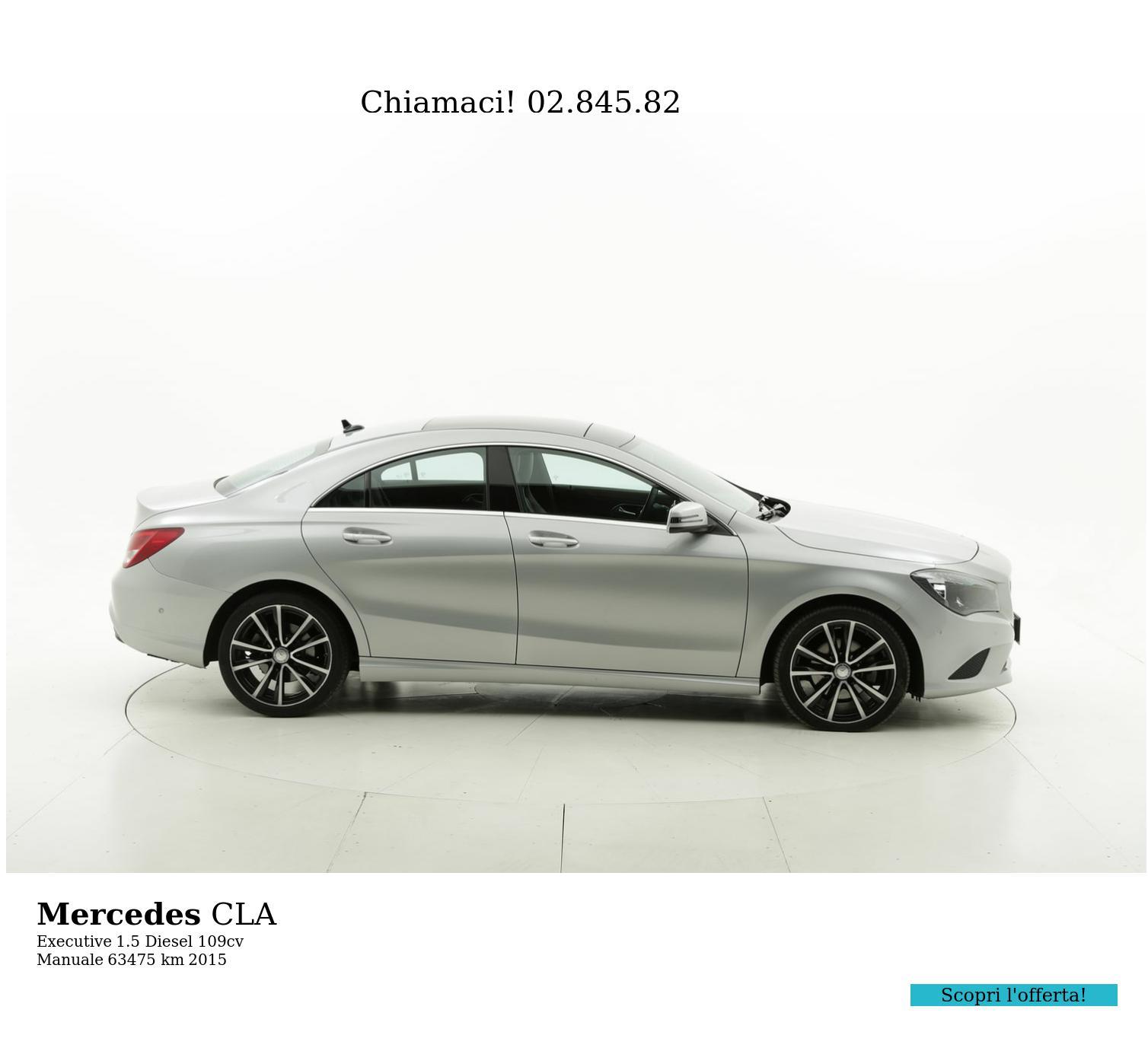 Mercedes CLA usata del 2015 con 63.645 km   brumbrum